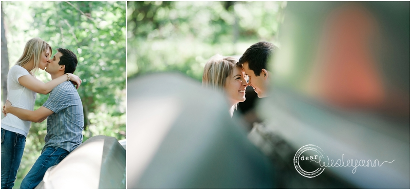 dear wesleyann, canoe engagement session,  florida photographer